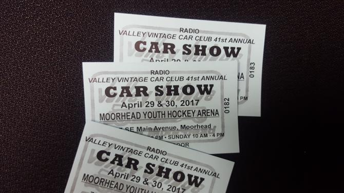 Free Tickets To Valley Vintage Car Show The Mighty KFGO - How much are the tickets for the car show