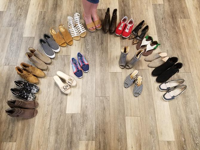 58f74b2e4 Check out these adorable shoes! Clothes Mentor has shoes in every style and  every price point. You deserve to have a pair of shoes that make you feel  ...
