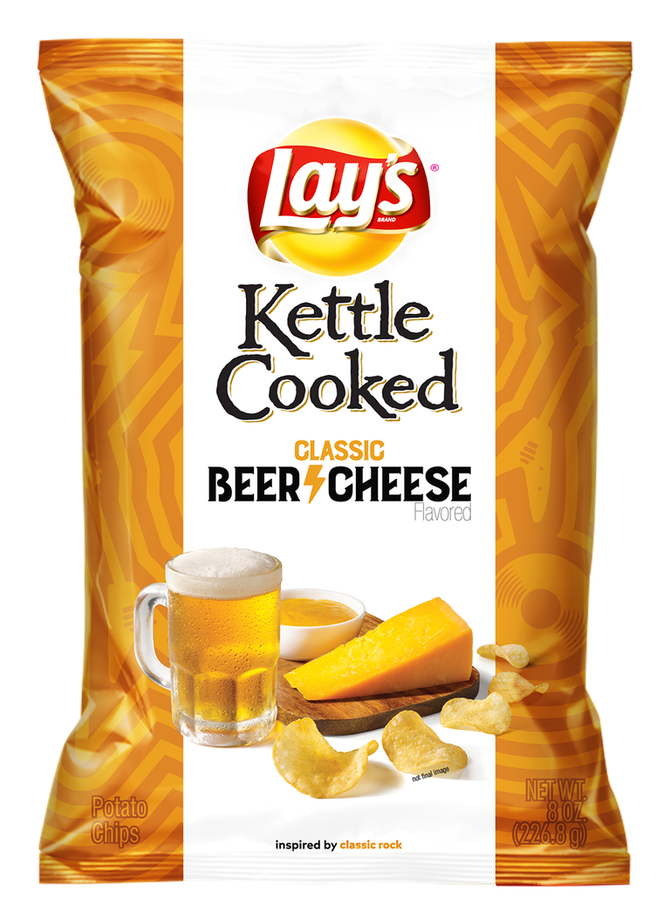 Lay's Is Releasing Three New Chips Based on Types of Music