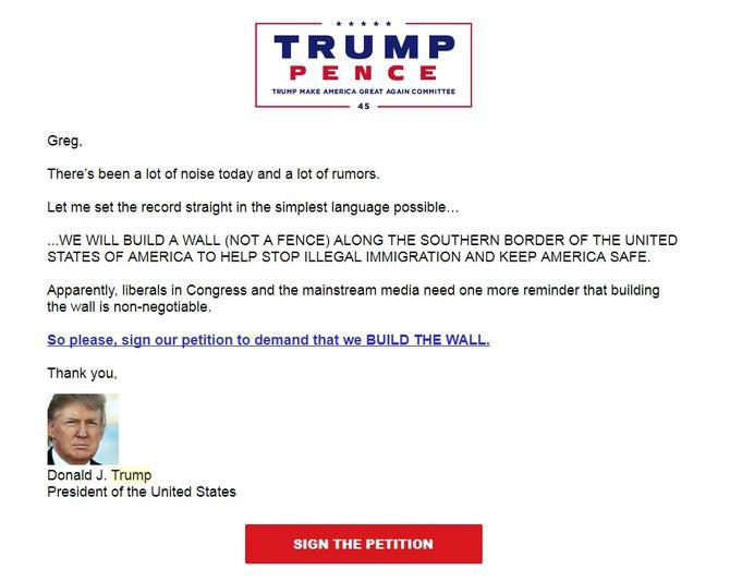 Trump letter: 'WE WILL BUILD A WALL' | KELO Newstalk 1320 107 9