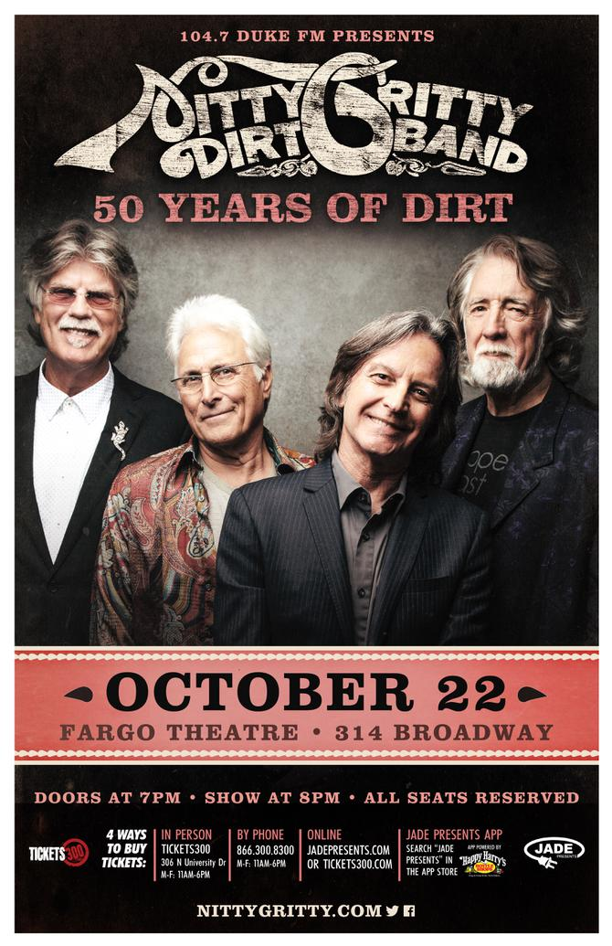 THE NITTY GRITTY DIRT BAND LIVE IN FARGO! | 104 7 Duke FM