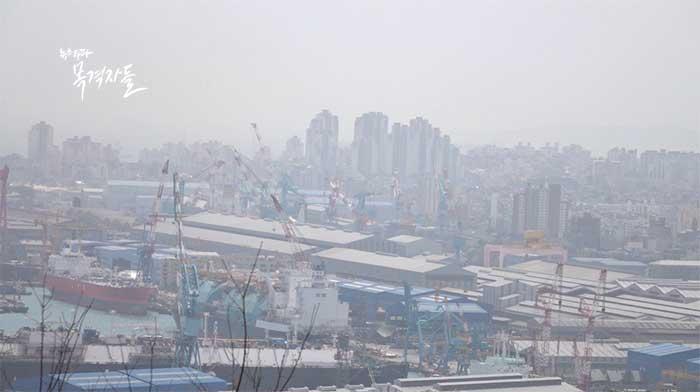▲ 울산 현대중공업 전경, 최근 불황의 여파로 찬바람이 불고 있다.