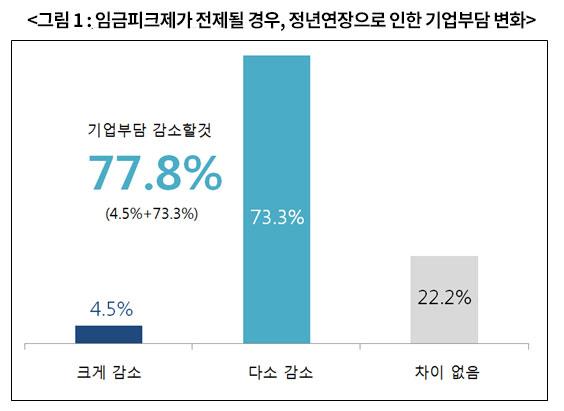 ▲ 경총 기업정년연장실태조사 (2013.6.17)
