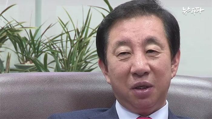 ▲ 20대 총선에서 서울 강서을에 출마한 김성태 의원(새누리당)