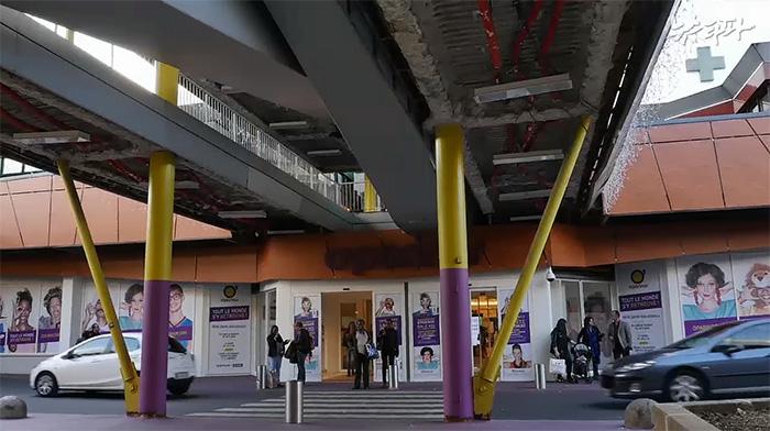 ▲ 프랑스 파리 오파리노 쇼핑센터
