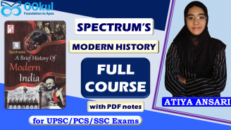 UPSC/PCS/SSC || Spectrum Modern Indian History || Full Course