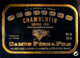 Hubert Camus Chambertin Grand Cru