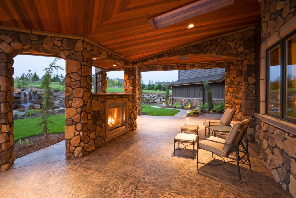 Front and Back Porch | Quality Hardscapes & Porch Masters on Covered Back Porch Ideas id=63829