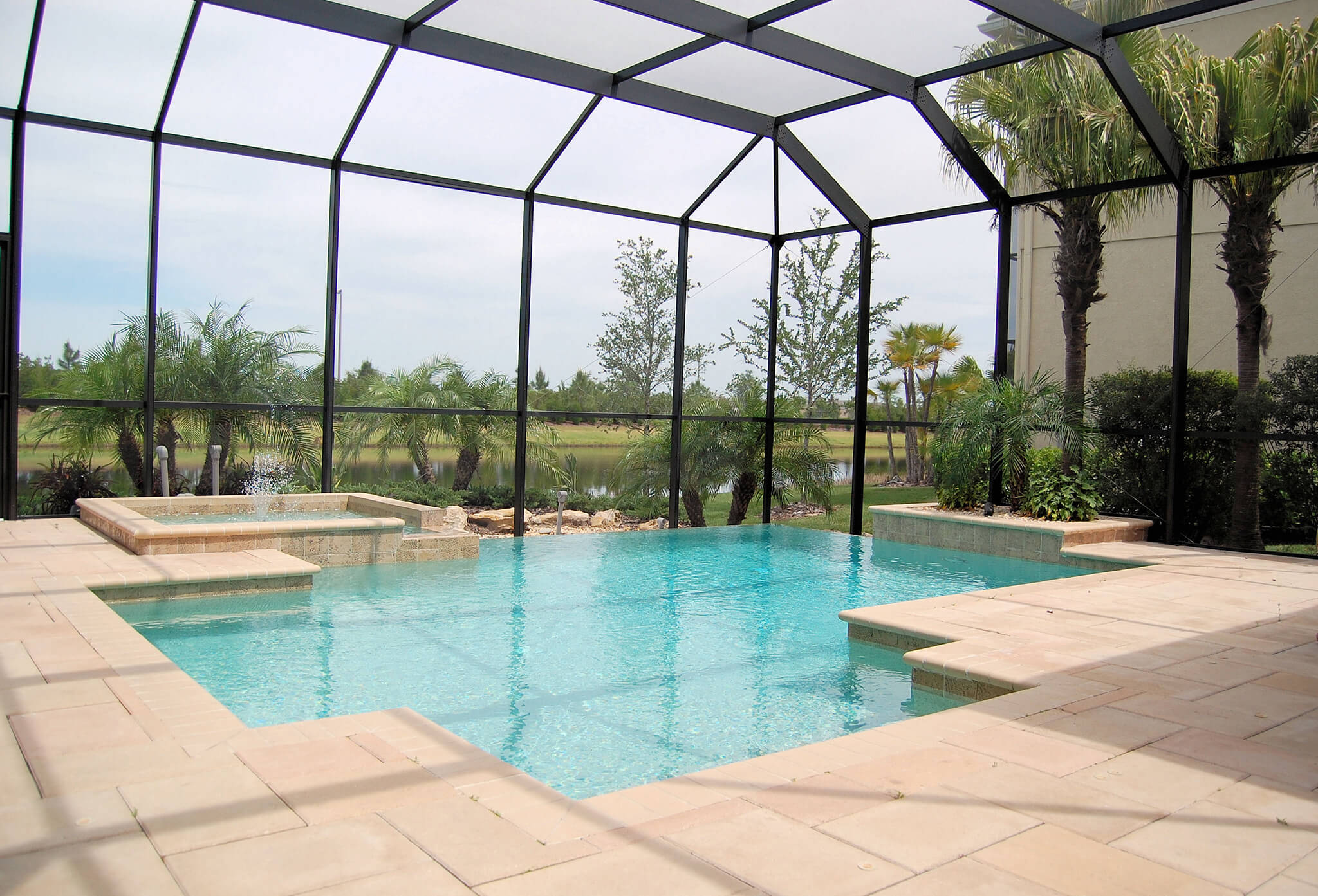 Pool Enclosure Quality Hardscapes Amp Porch Masters