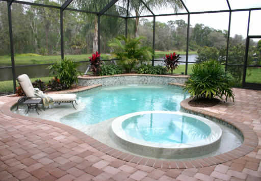 Paver Pool Decks