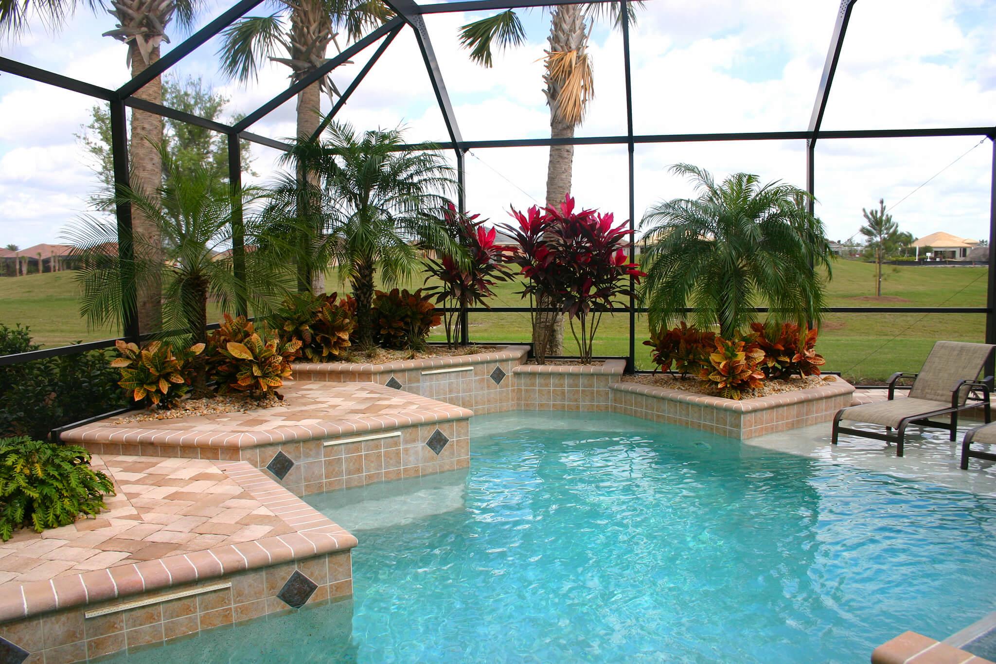 Florida Pool Enclosures Pool Screen Enclosure Rescreen
