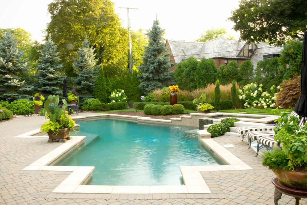 pool paver patio