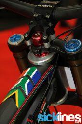 , Greg Minnaar's Santa Cruz V10 World Championship Bike 2013