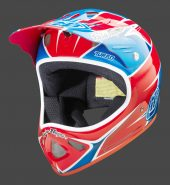 , 2014 Troy Lee Designs D2 Composite – Midnight, P51, Red Turbo, Turbo Grey