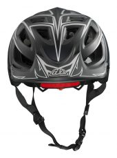 , 2014 Troy Lee Designs A1 Helmet – Enduro / All Mountain : Black Turbo, Blue Pinstripe, Grey Drone, Grey Turbo, Orange Turbo, and Red Drone