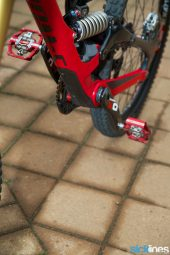 , Video: Aaron Gwin and Troy Brosnan's World Cup Specialized S-Works Demo Setup