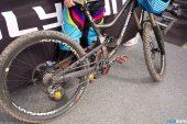 , Tracey Hannah's Polygon DH Bike