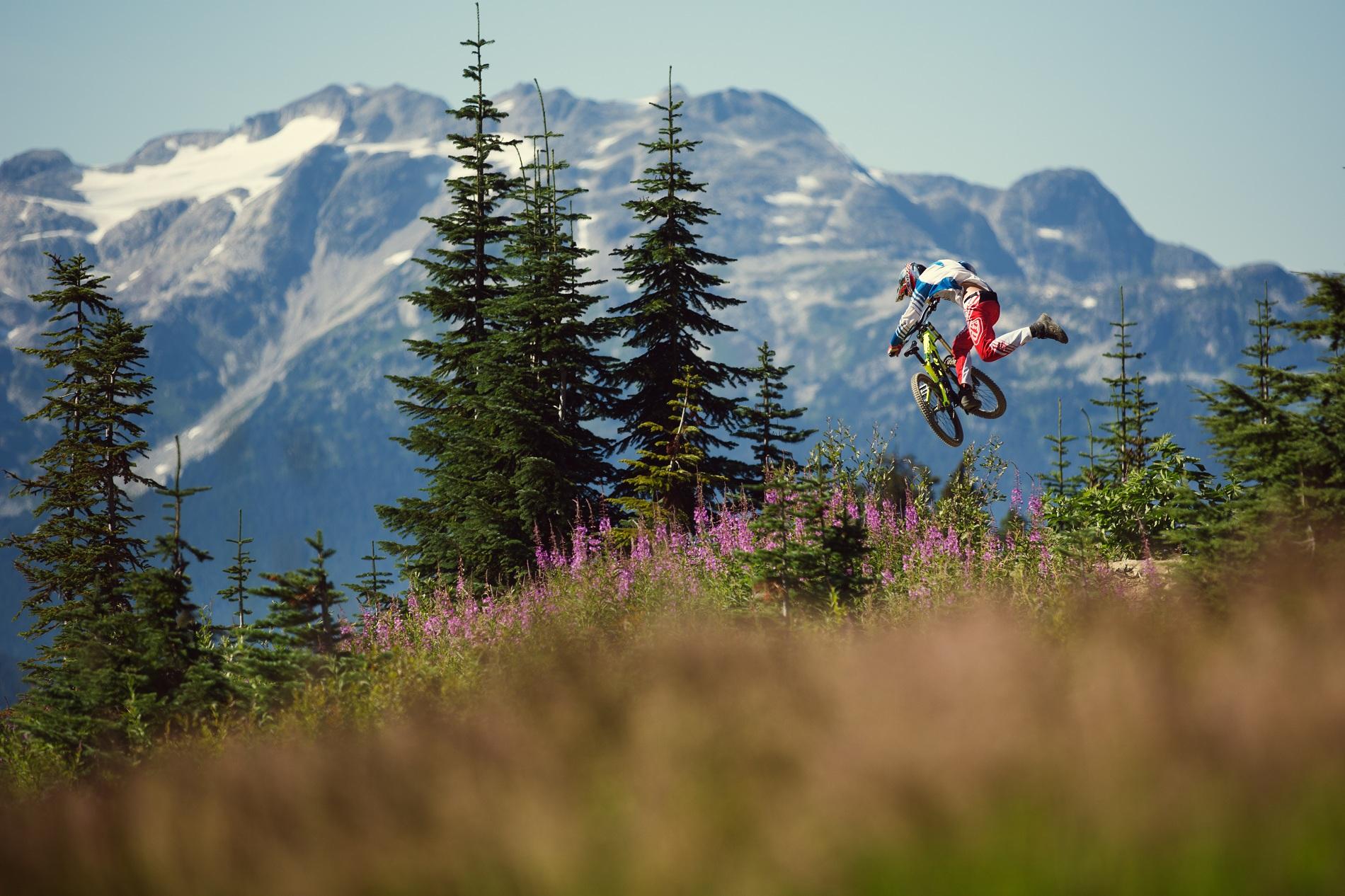 , Nico Vink and Kyle Jameson Shred Whistler Bike Park
