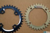 , Review: 2015 Renthal Introduces a New Wide/Narrow 1x Chainring : 1XR Chainring