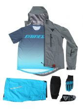 , 2016 Dainese Altitune Apparel and ArmoForm Knee Pads – Atmo-lite 3L Jacket, Loft-lite Jacket, Driftec Tee, Aria-Lite windbreaker, Terratec Shorts