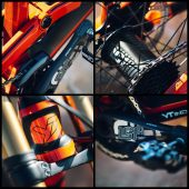 , e*thirteen Prototype and Production Parts for AARON GWIN onboard YT Mob
