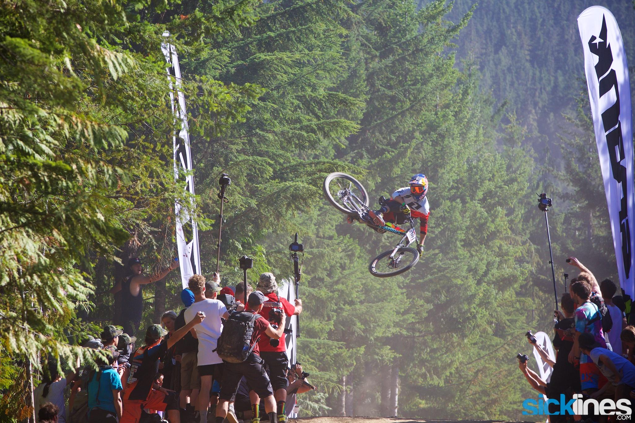, Crankworx Whistler – Whip Off World Championships – Finn Iles and Casey Brown Win