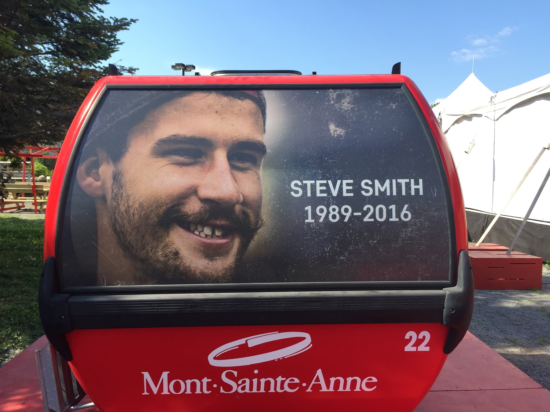 , Remembering Stevie Smith – May 10, 2016 Red Bull Monte Sainte Anne Run