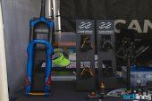 , 2017 Sea Otter Classic – Kuat Pivot Rack, Kuat NV 2.0 Base, Alpinestars, Intense Cycles, Foes, Cane Creek Helm, FOES Hydro, Foes Retro Kamikaze Bike