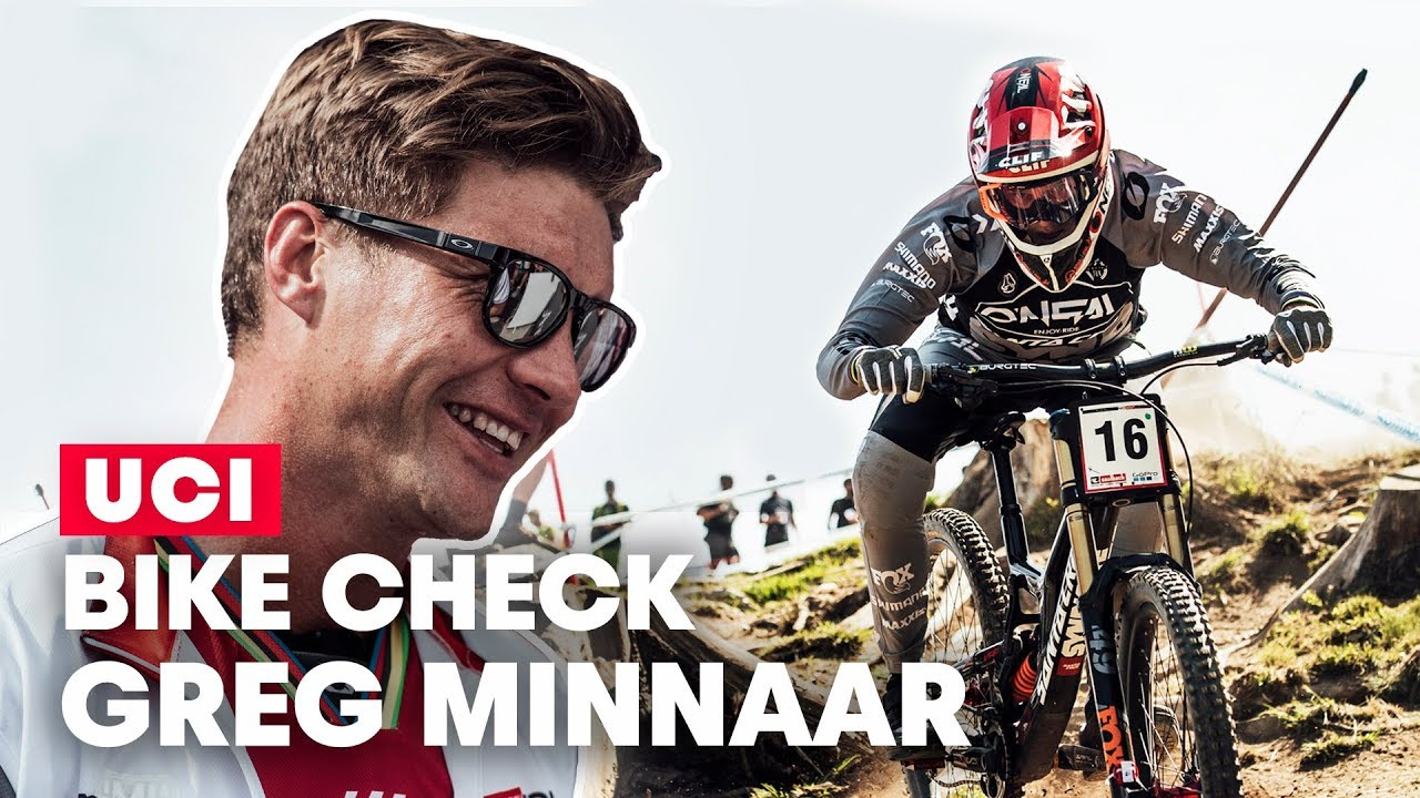, Video: Greg Minnaar's Santa Cruz V10 Bike Check
