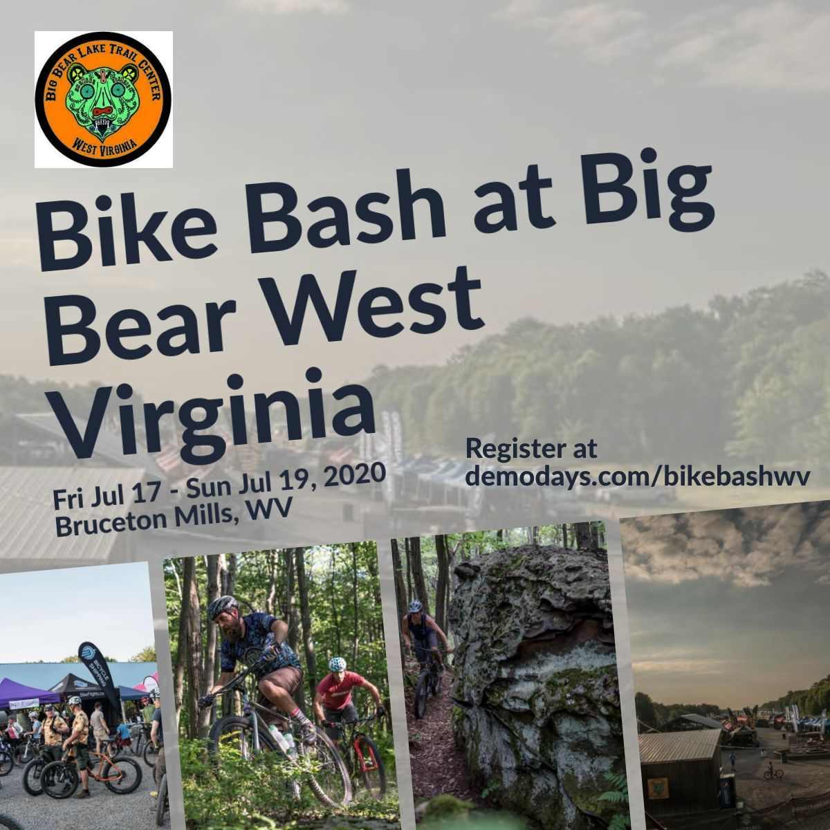, Bike Bash at Big Bear West Virginia July 17-19th – Previously Dirt Rag Dirt Fest
