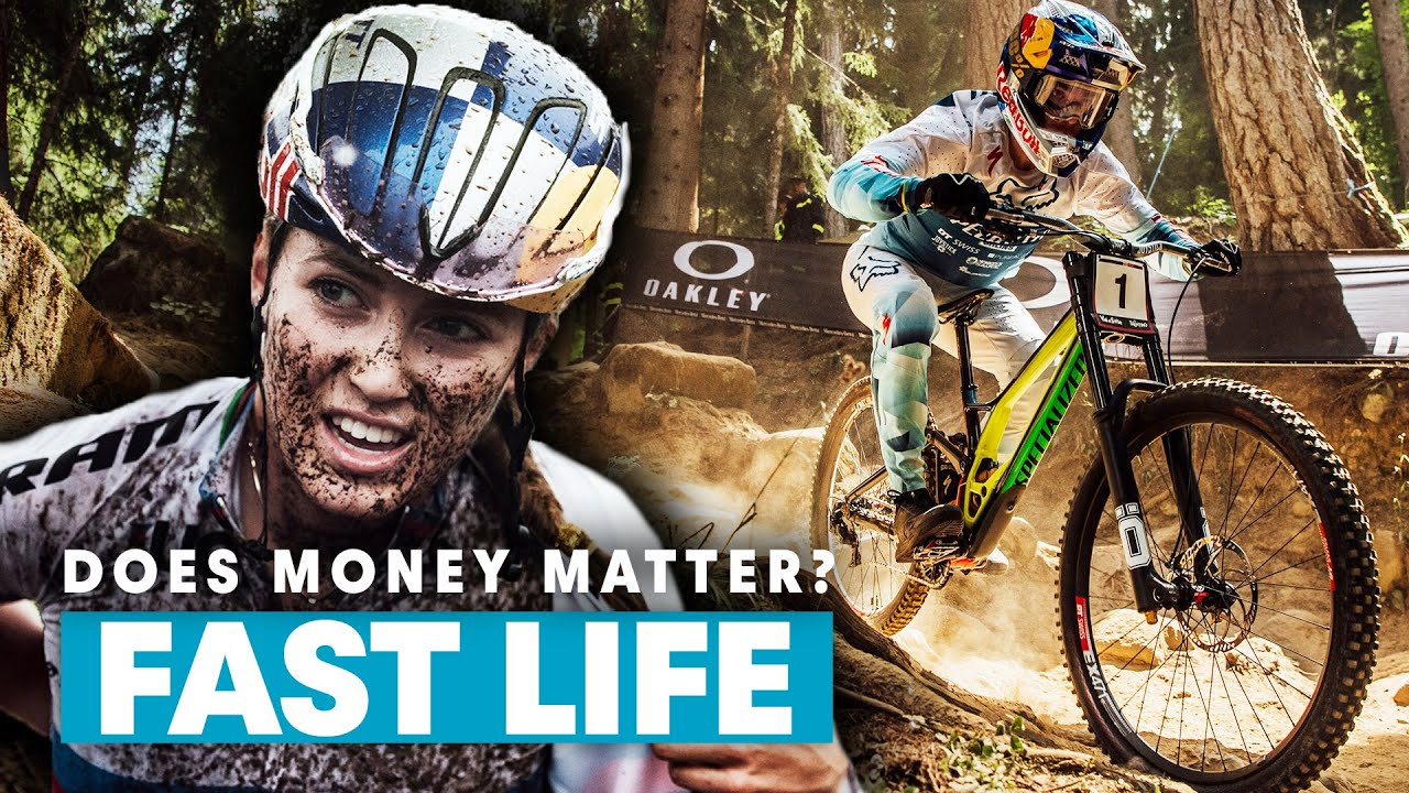 , How Much Money Do Mountain Bikers Actually Make? Aaron Gwin, Loic Bruni, Kate Courtney | Fast Life S3E5
