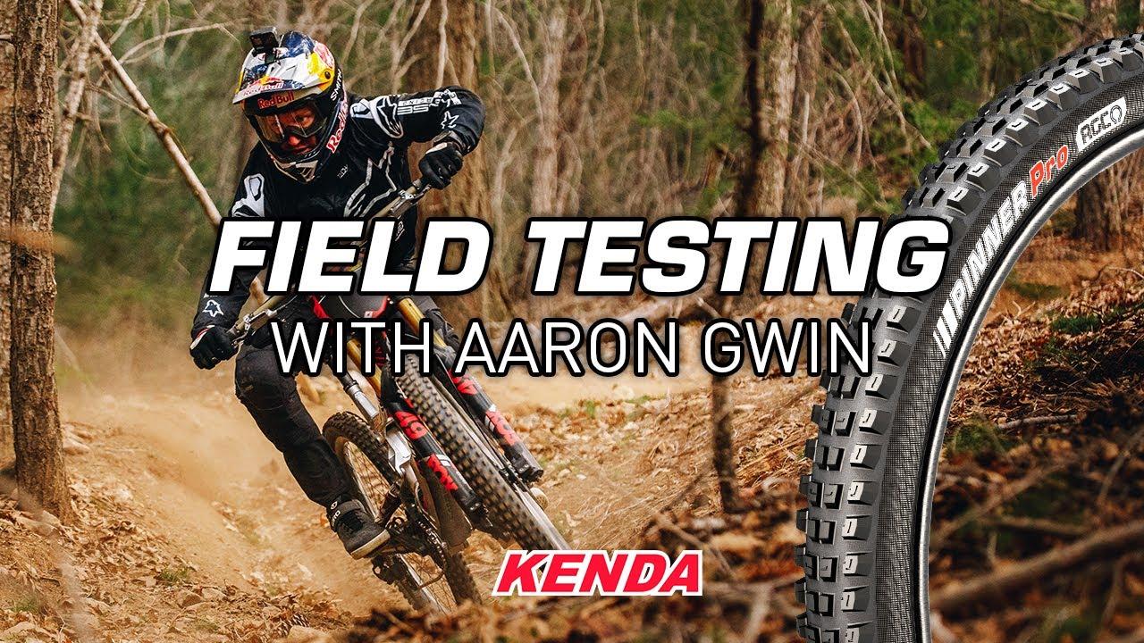 , Aaron Gwin Kenda Pinner Tire Development