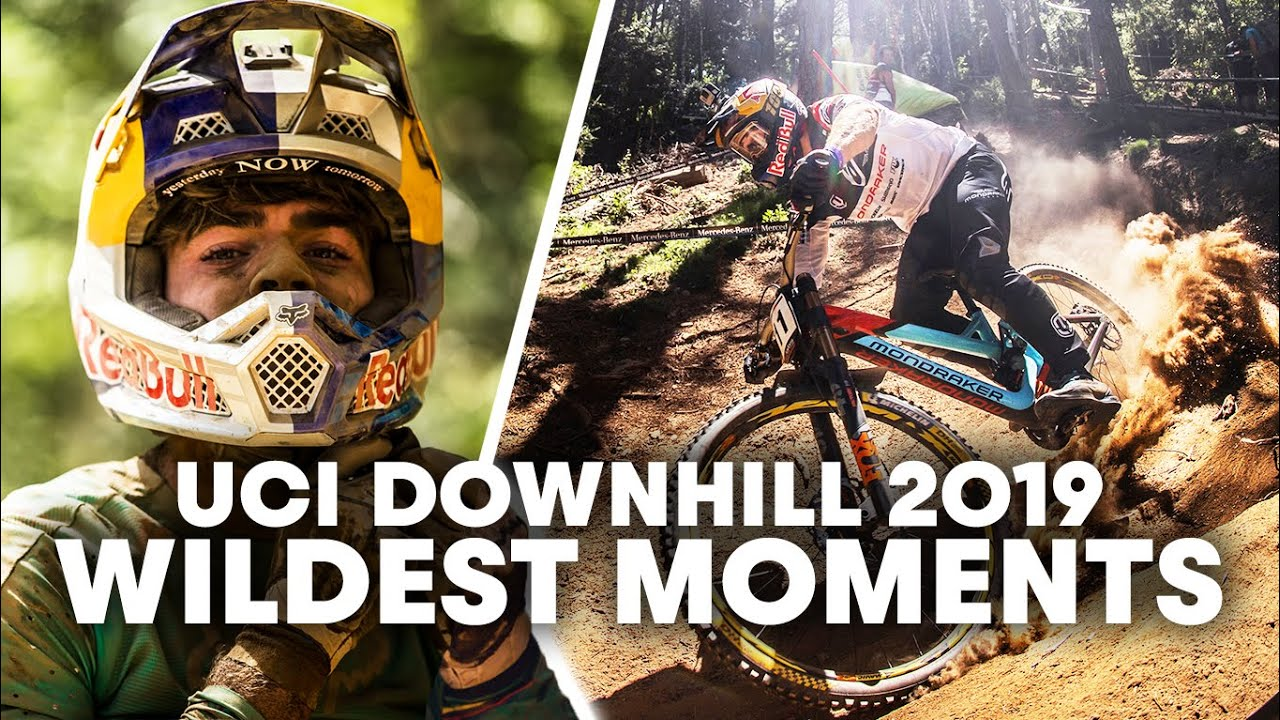 , Red Bull Highlights – Best Saves & Bails of A Wild 2019 Downhill Season | UCI Mountain Bike World Cup