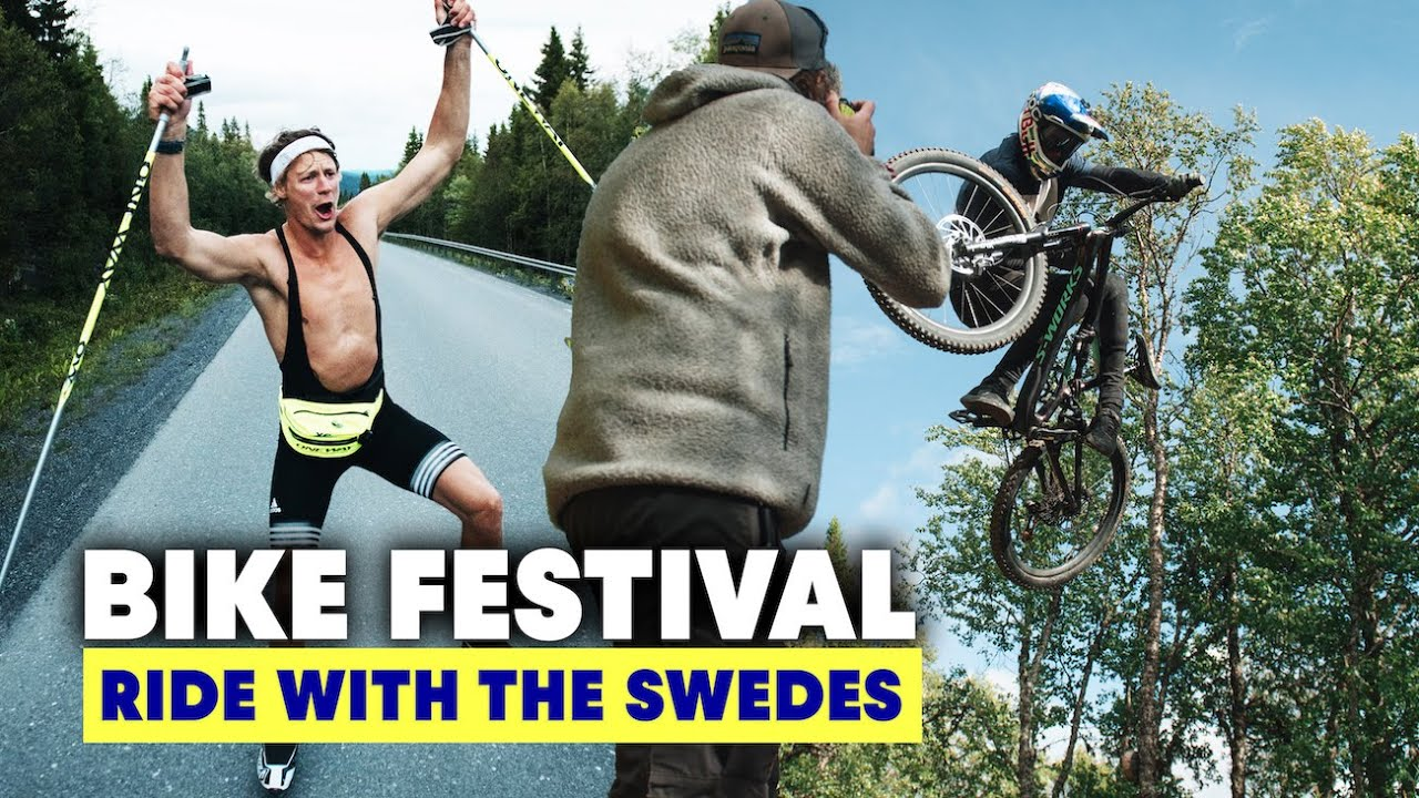 , Wild MTB Train Rides at Are Bike Festival | Ride With The Swedes S2E2