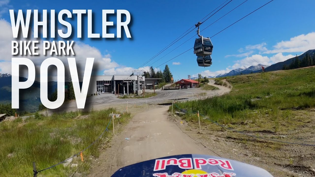 , Finn Iles – Whistler Bike Park POV Schleyer and Detroit Rock City
