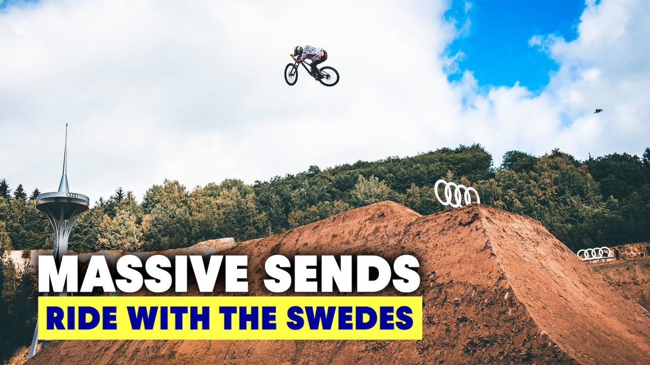 , Ride With The Swedes S2E3 Massive Jumps