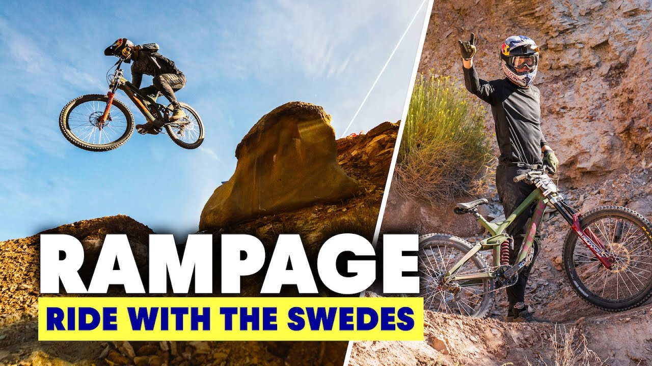 , Emil Johansson – Ride With The Swedes – Rampage