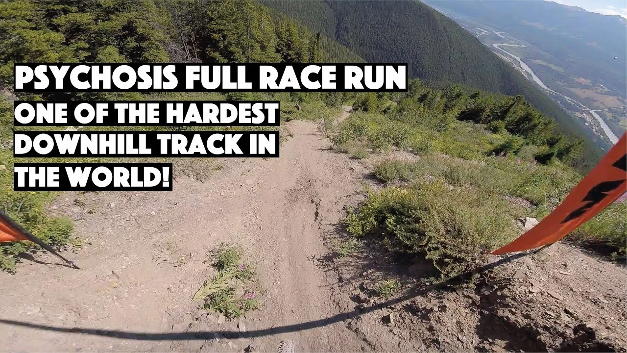 , Mount 7 Psychosis Full Downhill Race Course Run – Crankworx Summer Series – Golden B.C.