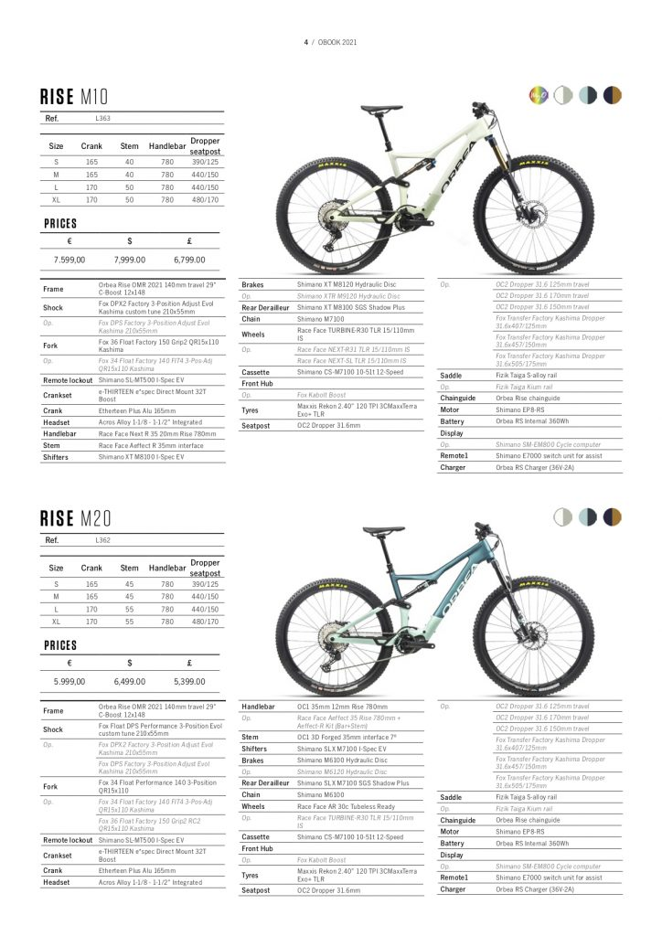 , Orbea launches the Rise eMTB