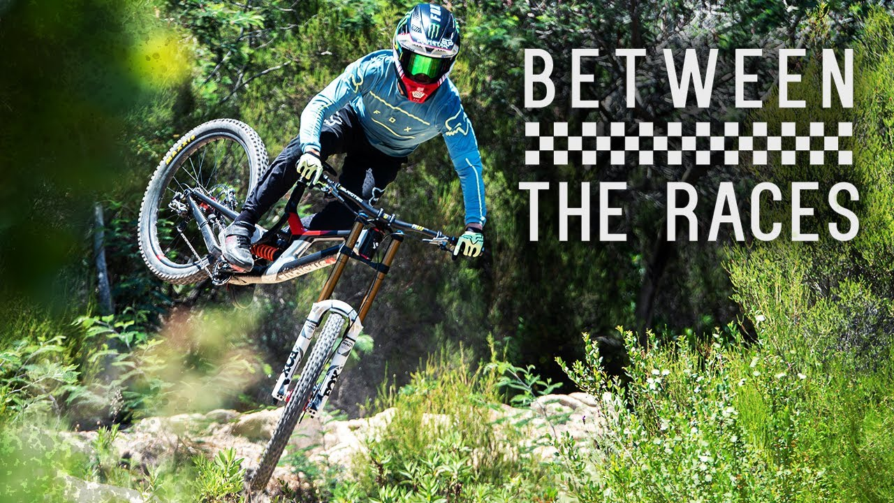 Behind The Scenes Professional Downhill Racer, Behind The Scenes Professional Downhill Racer – Monster Energy Between The Races
