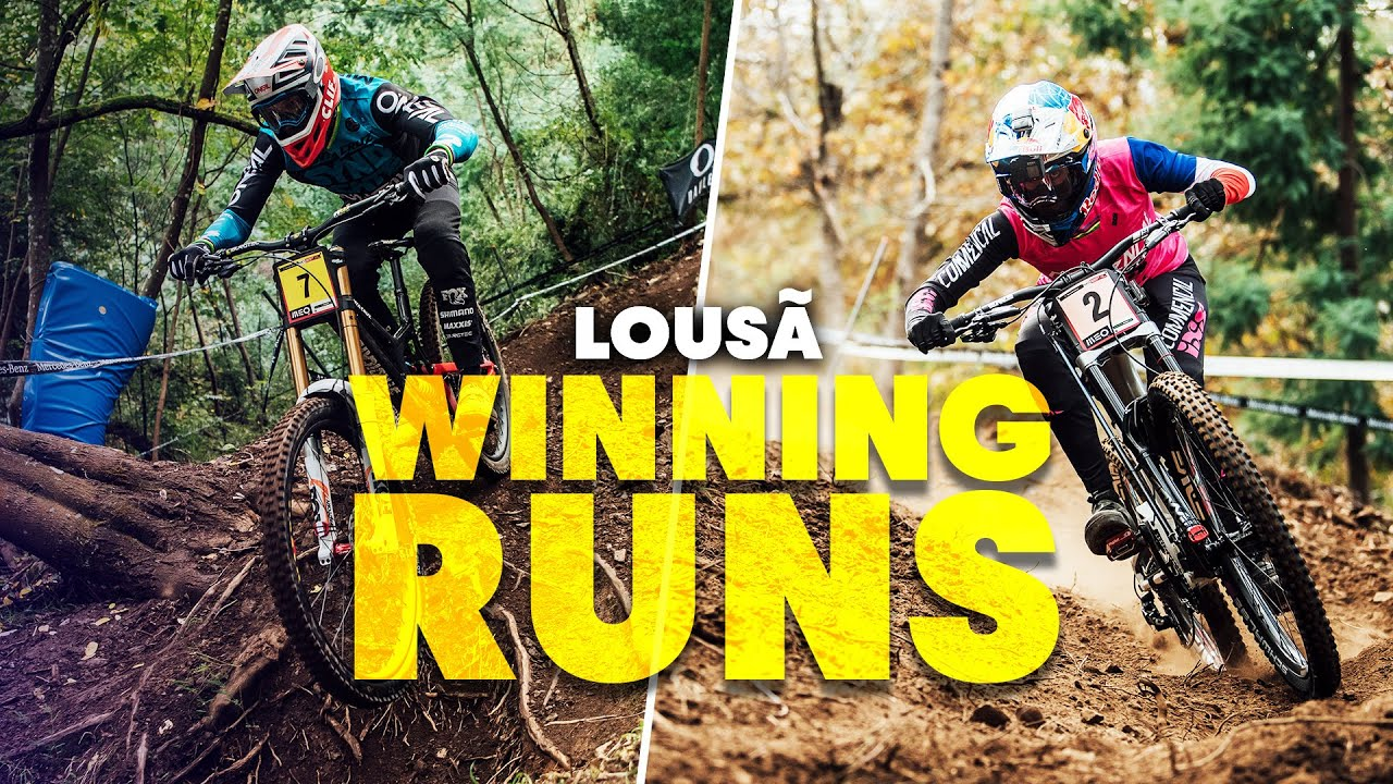 , 2020 Lousa World Cup Downhill Race #1 Results and Videos