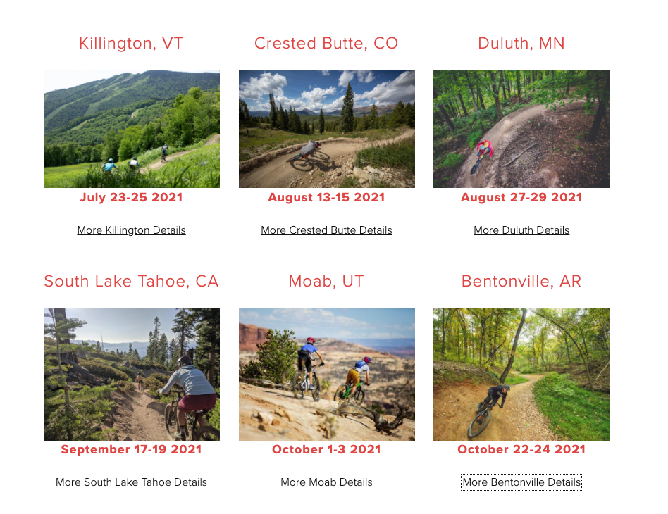 Outerbike 2021 Calendar Dates, Outerbike 2021 Dates Announced