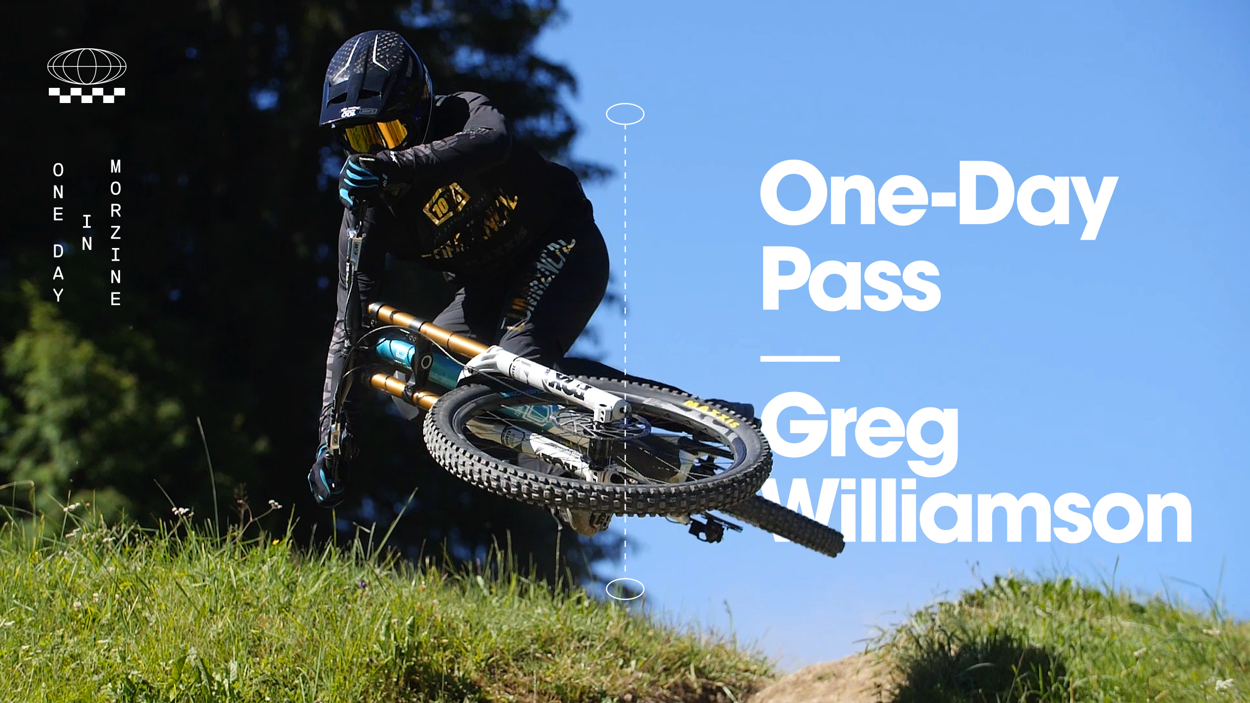, Greg Williamson – Morzine Downhill
