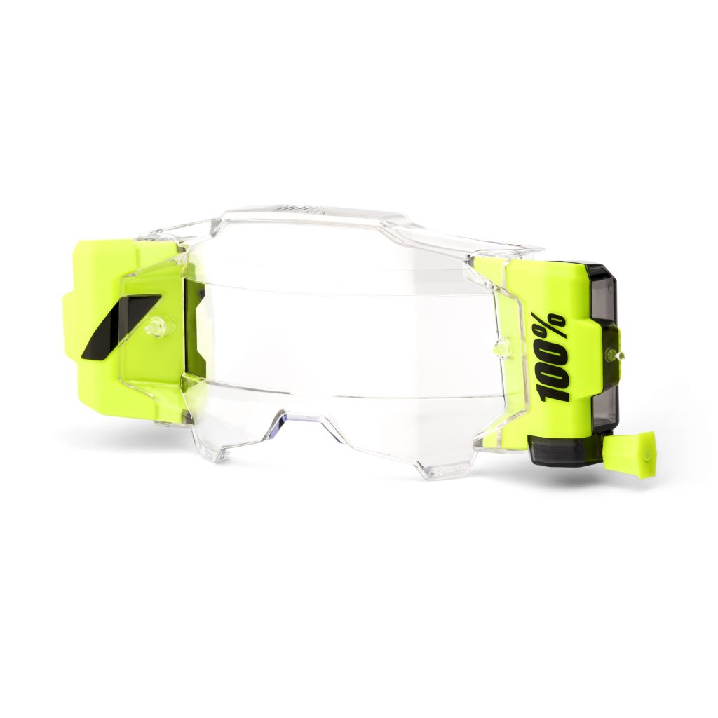 100 Percent Armega Forcast Goggle Roll System, 100% Armega Forcast Goggle System For Mud / Rain