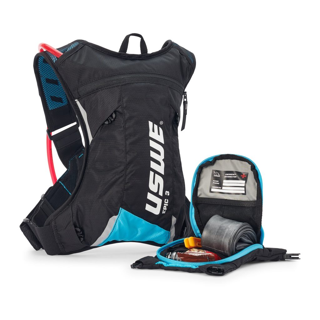 , USWE Epic All Mountain Hydration Packs – 3L, 8L, 12L
