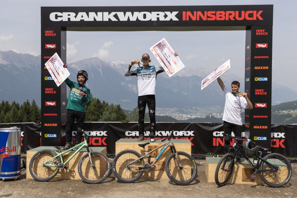 , EMIL JOHANSSON GOES FOUR IN A ROW WITH WIN IN CRANKWORX INNSBRUCK SLOPESTYLE 2021