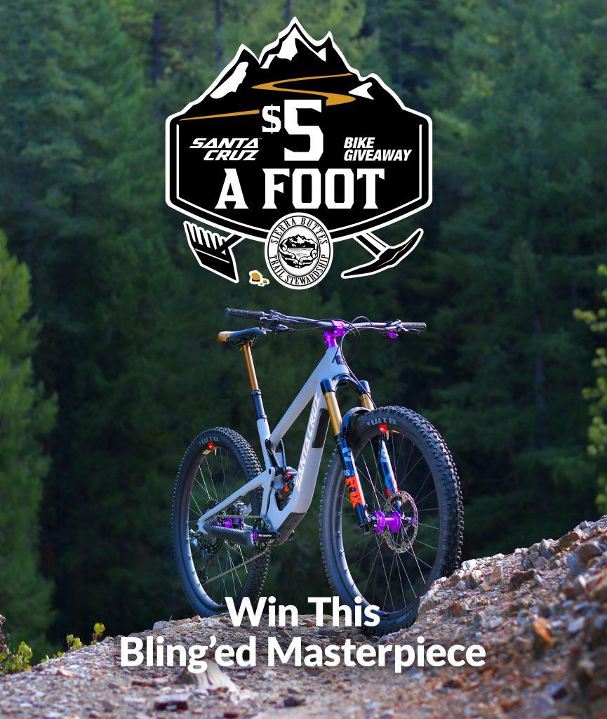 , Sierra Buttes Trail Stewardship: 5 Bucks a Foot Fundraiser