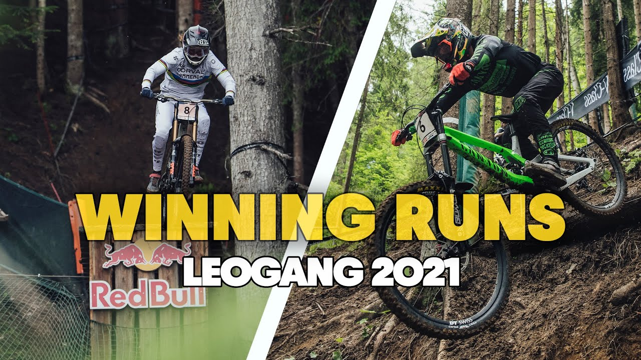 , UCI DH World Cup #1 – Leogang Winning Runs Elite Men and Women