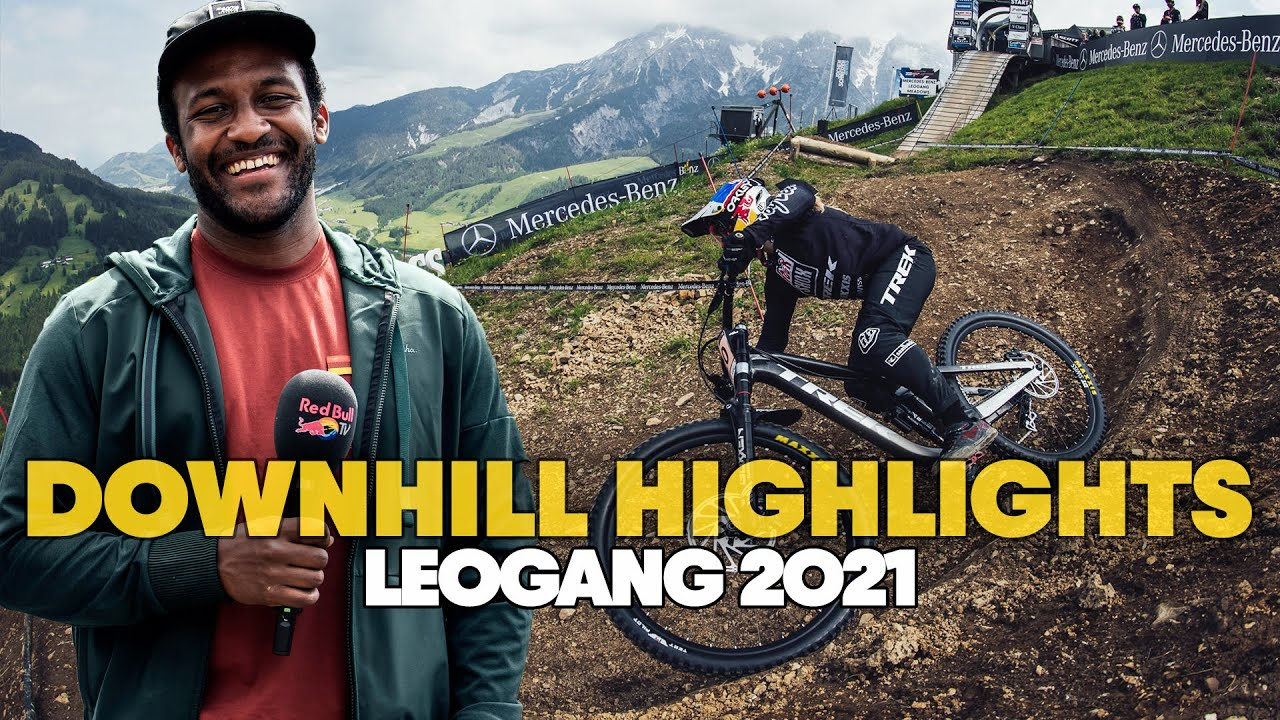 , 2021 UCI World Cup DH #1 Leogang Highlights