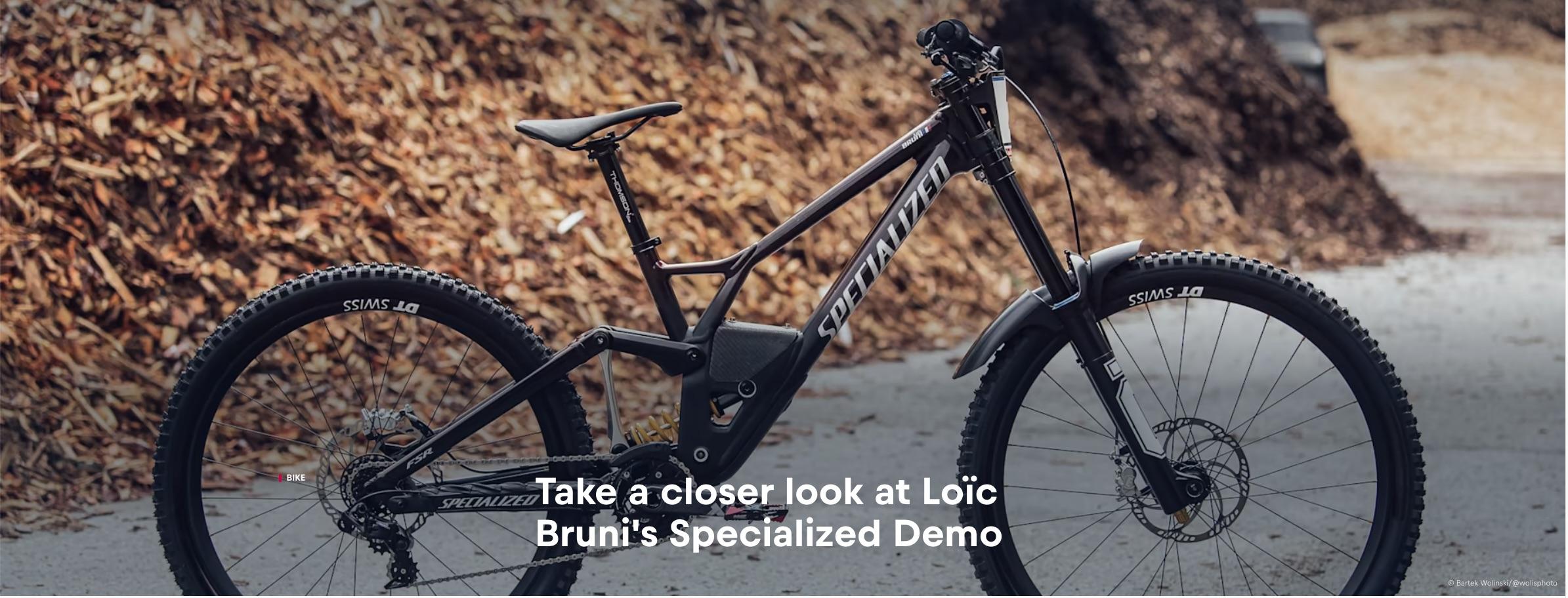 , Loic Bruni Bike Check – Ohlins Prototype